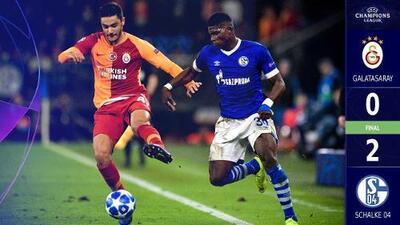 El Schalke dio un paso importante rumbo a Octavos de Final al derrotar al Galatasaray