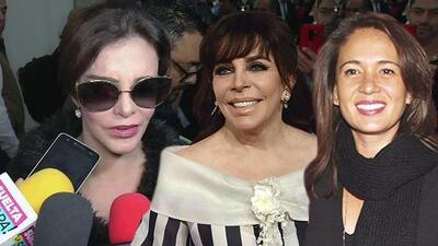 Lucía Méndez evade el escándalo de Verónica Castro y Yolanda Andrade al reflexionar sobre su propio pasado