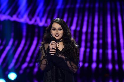 Esta joven residente de Texas cantó el tema 'True colors' de Cyndi Lauper.