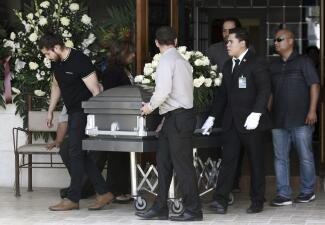 En fotos: Despiden en funerales a dos de los mexicanos víctimas del tiroteo en El Paso