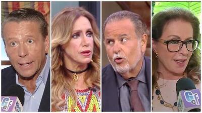 Alfredo Adame vs. Laura Zapata: ¿De qué lado están los conductores de El Gordo y La Flaca?