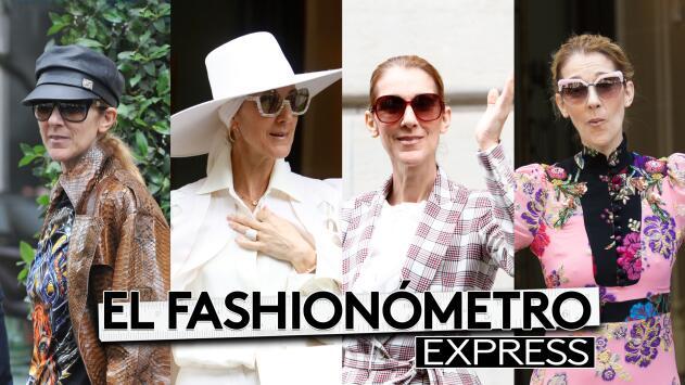 El Fashionómetro: Celine Dion se disfrazó en Paris y nuestro escuadrón no la perdonó