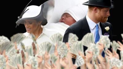 Poco probable que Meghan Markle sea la madrina del príncipe Louis (Sorry! 😢)
