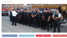 Cicero quiere formar y entrenar a 250 policías