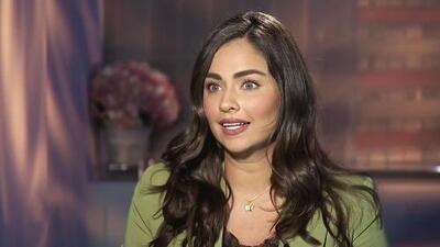 Claudia Martín interpretó su primer protagónico en 'Sin tu mirada' con muy poco maquillaje y así se sintió
