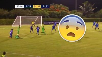 ¿Verías un Monserrat vs Belice?: Pues si dices que no te perdiste el gol con el que soñarían Messi o CR7