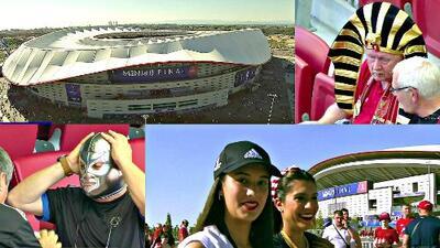 ¡Se vive la Final de la Champions League! El color dentro y fuera del Wanda Metropolitano