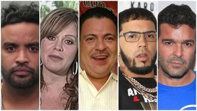Violencia, drogas, tiroteo y hasta por no pagar la energía: estos famosos no se salvaron de la ley