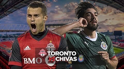 La Final de la Concacaf será entre Chivas y Toronto FC