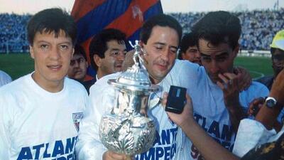 Los del Atlante están de fiesta: celebran 25 años de haberle ganado el título a Monterrey