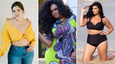 EN FOTOS: 8 modelos 'plus size' que nos demuestran que la belleza no es cuestión de peso