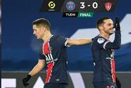 PSG consigue su primer triunfo en la era de Mauricio Pochettino