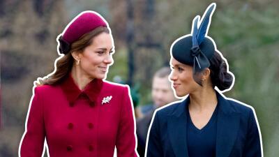 ¿Amistad fingida? Experta en lenguaje corporal señala que Kate y Meghan actuaron en Navidad
