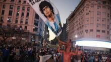 Hija de Maradona apoya marcha por muerte del Diego