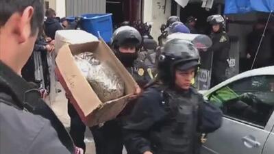 Así son los narcotúneles en donde encontraron drogas, cráneos humanos y armas