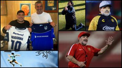 En fotos: la trayectoria de Maradona después del retiro