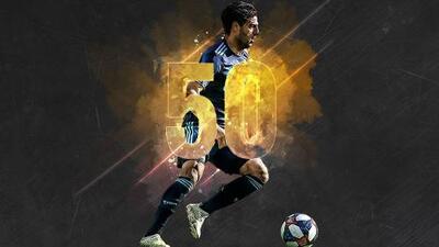 Carlos Vela jugará su partido 50 con Los Angeles FC