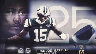 Top 100 Jugadores del 2016: (Lugar 25) WR Brandon Marshall