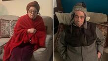 Esta pareja de ancianos en El Bronx vive sin calefacción en medio de las gélidas temperaturas
