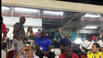 Denis Te Kloese presenció las Semifinales de JCC junto a Juan Carlos Osorio