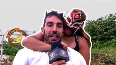 'Lady Sensación' le dio una golpiza a Pedro Prieto por hablar mal de la lucha libre