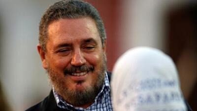 Gobierno de Cuba informa que 'Fidelito', hijo mayor de Fidel Castro, se suicidó