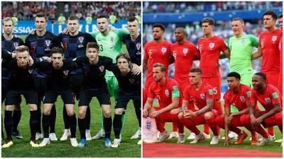 Croacia vs. Inglaterra: ¿qué equipo es el favorito para llegar a la gran final de Rusia 2018?