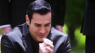 Ricardo le dio el último y doloroso adiós a Alejandra