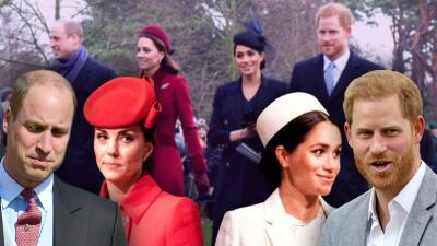 Meghan y Harry se separan de Kate y William: el fin de los '4 Fabulosos' de la realeza (por ahora)
