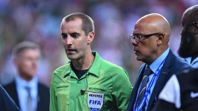 FIFA ratifica a Mark Geiger como árbitro para el México vs. Honduras