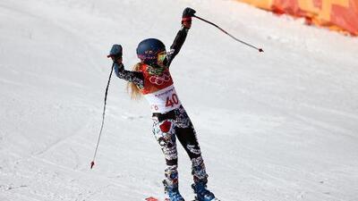 Sarah Schleper, no termina el eslalon gigante en su debut olímpico con México