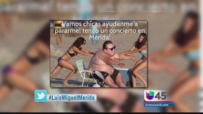 #ElHashtag: ¿Luis Miguel estaba borracho?