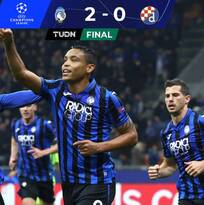 Triunfo que da vida al Atalanta en la UEFA Champions League