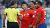 Gary Medel y Claudio Bravo tunden al arbitraje de la Conmebol