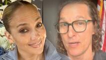Jennifer López y Matthew McConaughey recuerdan 'The Wedding Planner', en su aniversario 20