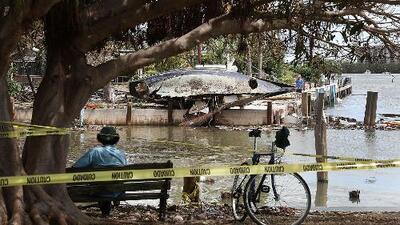 Imágenes de los destrozos causados tras el paso de Irma por algunas zonas de Florida