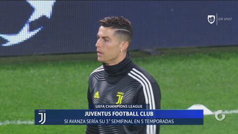 ¡Ya calienta la 'Máquina' Cristiano Ronaldo!