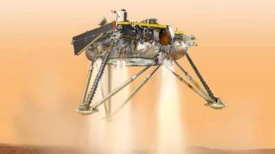 La sonda de la NASA InSight llega a Marte con éxito y envía su primera foto