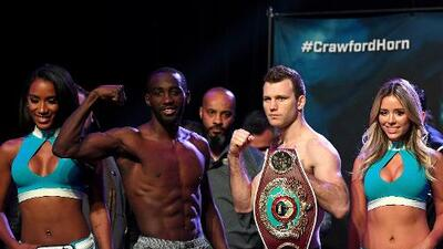 Terrence Crawford busca confirmarse ante Jeff Horn