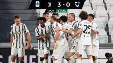 Golea Juventus a la Sampdoria en su debut