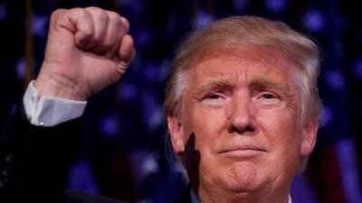 Trump triumphant in historic election victory for the outsider