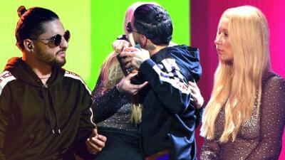 Iggy Azalea has been getting cozy with Colombian superstar Maluma