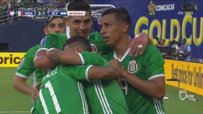 Orbelín Pineda cerró la pinza y marcó el 3-1 sobre El Salvador