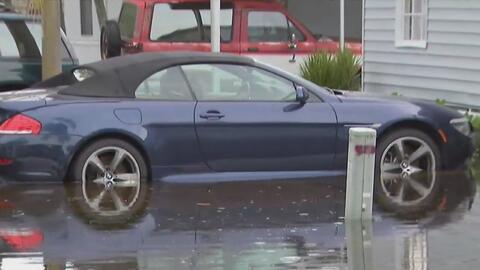 Lluvias generan inundaciones en Davie