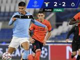 Brujas le saca el empate a la Lazio en la Champions League