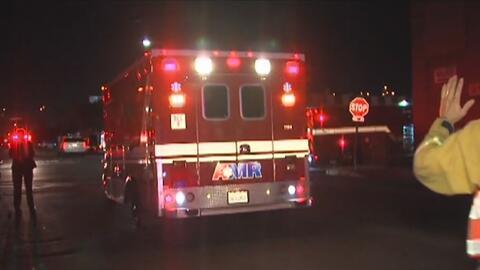 Varios niños resultaron heridos al colapsar la escalera de un gimnasio en San Diego, California