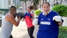 Así le fue a Raúl tras someterse al mismo entrenamiento que Clarissa Molina y Kate del Castillo