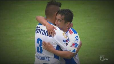 Puebla 2-1 Cruz Azul: La Franja descarrila a la Máquina