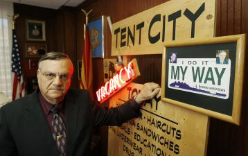 In photos: a journey through Joe Arpaio's 50-year career in law enforcement
