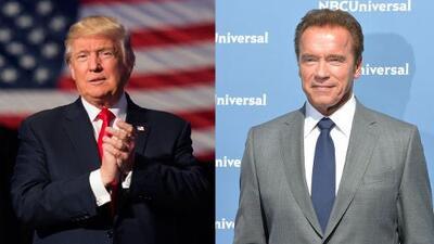 Trump vs 'Terminator': el presidente electo y Schwarzenegger se enfrentan en Twitter